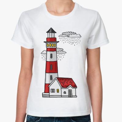 Классическая футболка Красный маяк