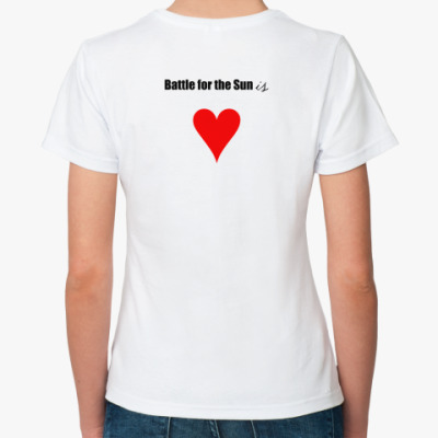 Классическая футболка  Battle for the Sun