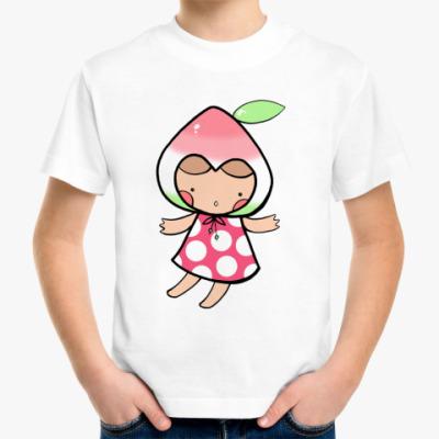 Детская футболка Персик (kinder)