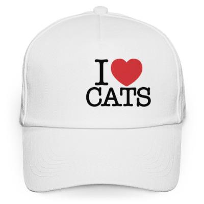 Кепка бейсболка  я Люблю кошек