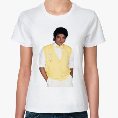 Классическая футболка Майкл Джексон
