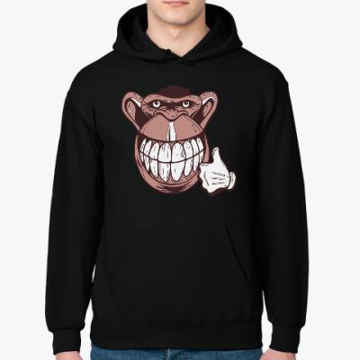 Толстовка худи Веселая обезьяна