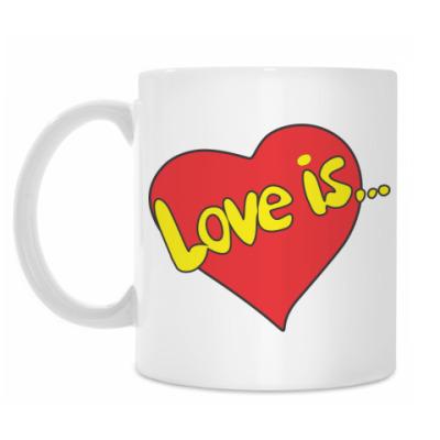 Кружка Love is