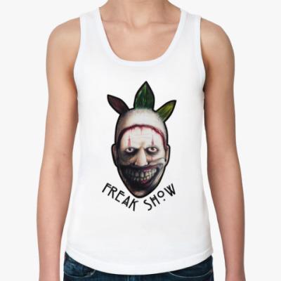 Женская майка Freakshow horror clown