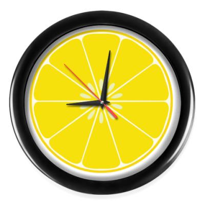 Настенные часы Лимон