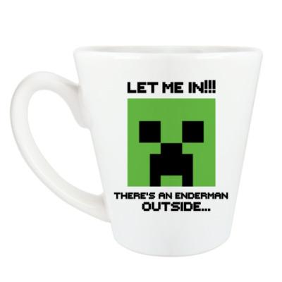 Чашка Латте Creeper