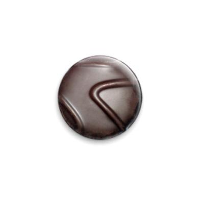Значок 25мм Шоколадка