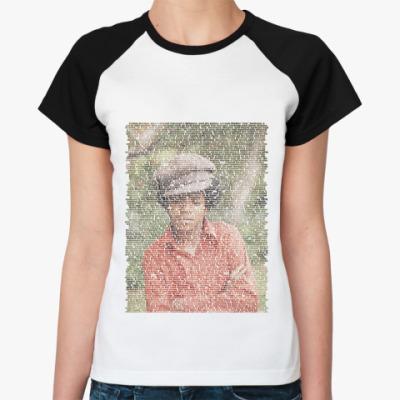 Женская футболка реглан Jackson2