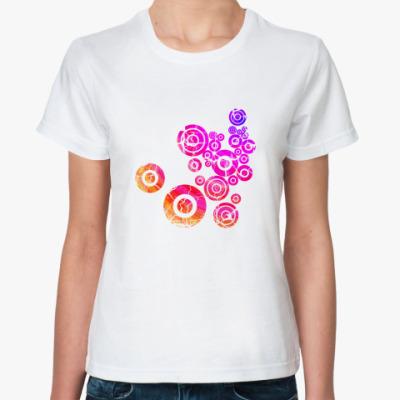 Классическая футболка  Art Circles