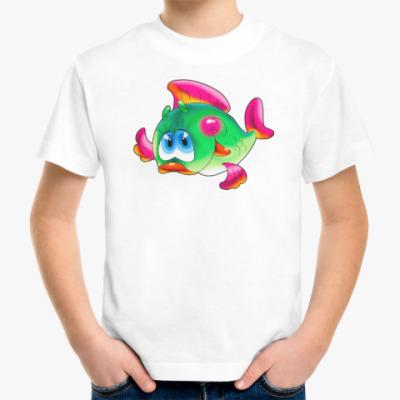 Детская футболка РЫБА