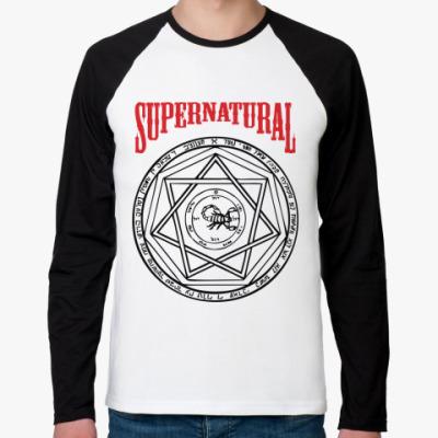 Футболка реглан с длинным рукавом Devil's Trap - Supernatural
