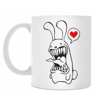 Кружка Белый Кролик
