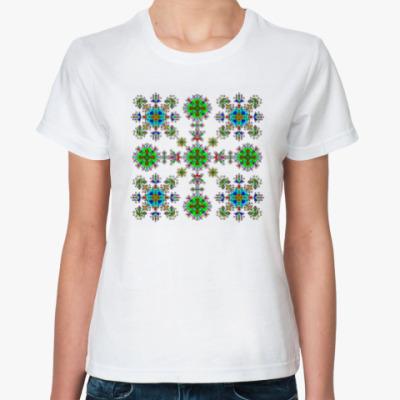 Классическая футболка Моя весна