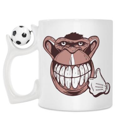 Кружка Веселая обезьяна
