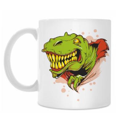 Кружка Динозавр тирекс