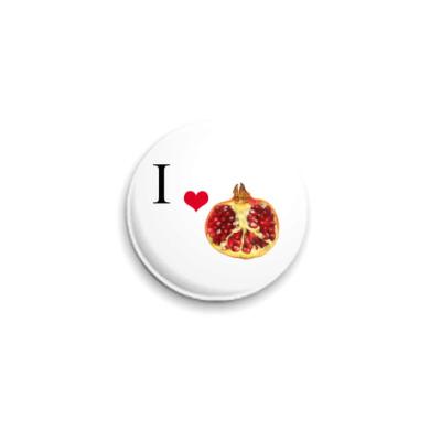 Значок 25мм Pomegranate
