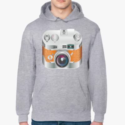 Толстовка худи Винтажный фотоаппарат