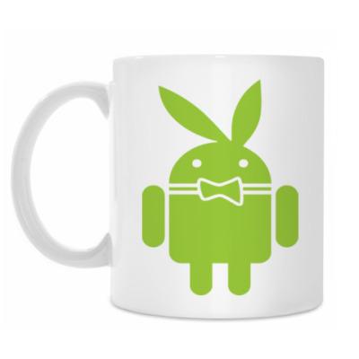 Кружка Андроид плейбой