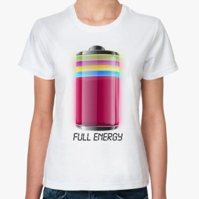Классическая футболка 'Energy'