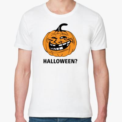 Футболка из органик-хлопка Halloween?