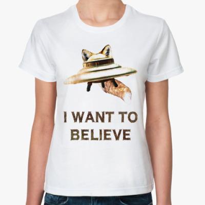 Классическая футболка Fox Flying Object