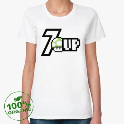 Женская футболка из органик-хлопка Super Mario Mushroom