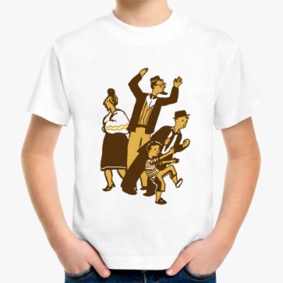 Детская футболка Семейство в сборе