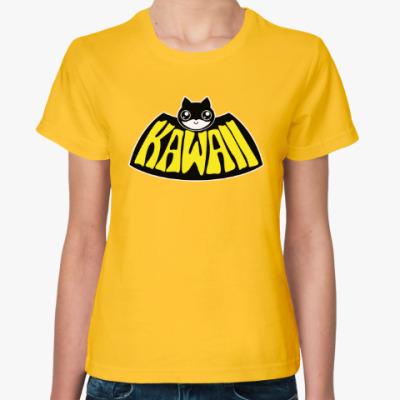 Женская футболка Kawaii Batman