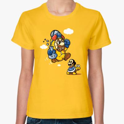 Женская футболка Mario Heisenberg