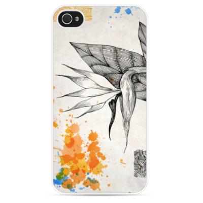Чехол для iPhone Райская птица (стрелиция)