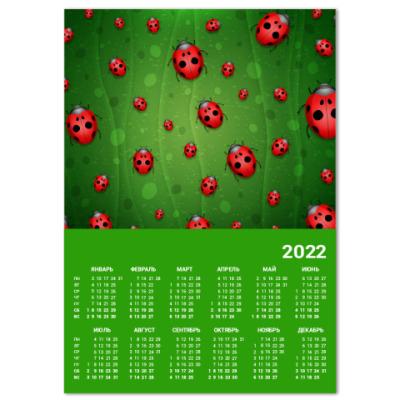 Календарь Божьи коровки