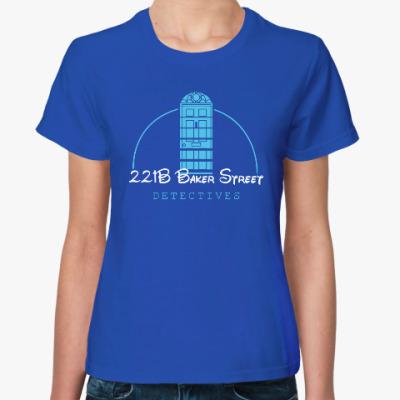 Женская футболка 221 Baker Street