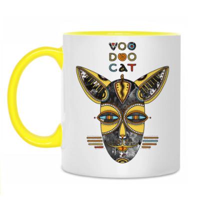 Кружка Вуду кот