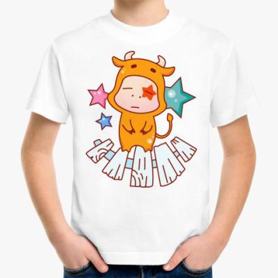 Детская футболка Знак зодиака Телец