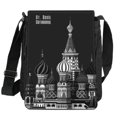 Сумка-планшет Собор Василия Блаженного