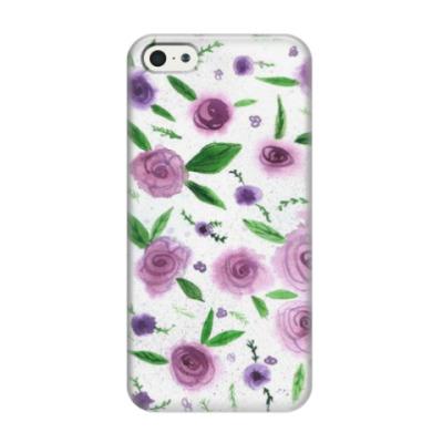 Чехол для iPhone 5/5s Розы