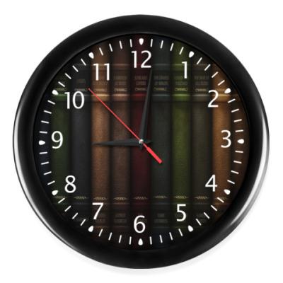 Часы 'Книжная полка'