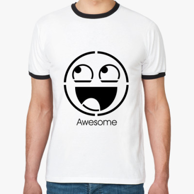 Футболка Ringer-T Awesome