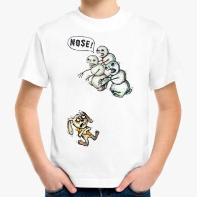 Детская футболка Снеговики-зомби