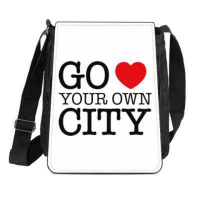 Сумка-планшет Love your own city