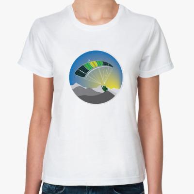 Классическая футболка Крыло!