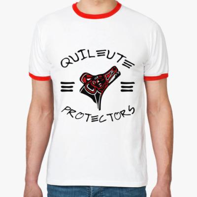 Футболка Ringer-T Quileute