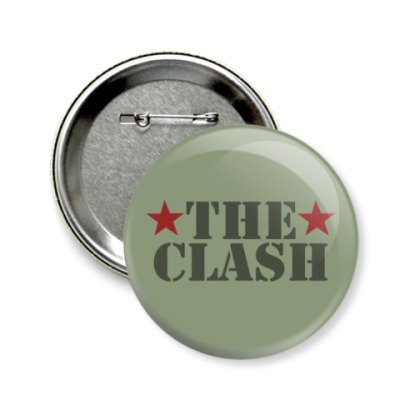 Значок 58мм The Clash