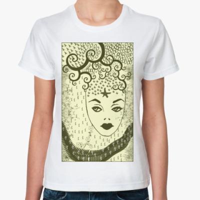 Классическая футболка Загадка