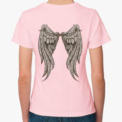 Женская футболка Крылья