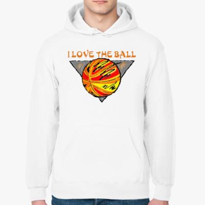Толстовка худи I Love The Ball