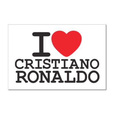 Наклейка (стикер) Криштиану Роналду