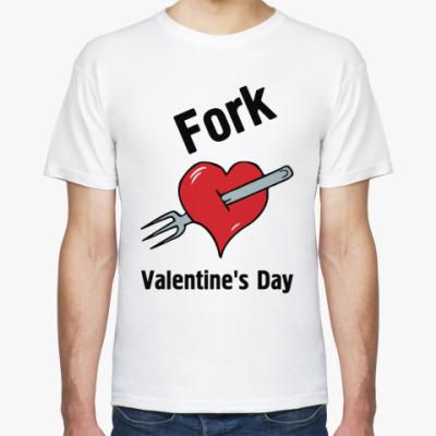 Футболка Fork V Day