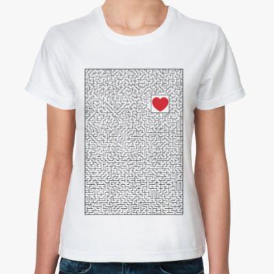 Классическая футболка Лабиринт