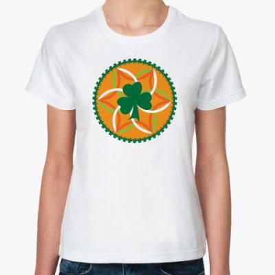 Классическая футболка Ирландские мотивы